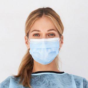 Elastok Masques chirurgicaux de très haute filtration bactérienne